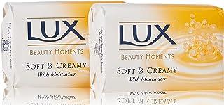 Lux Soft en Creamy stuk zeep (2 x 125 g)