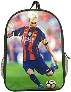 Barcelona Messi #10 Soccer Backpack School Bag Perfect Gift for Messi Soccer Fans