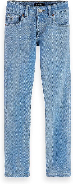 Scotch /& Soda Strummer-Blue Reef Jeans para Ni/ños