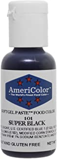 Americolor Gel Paste Food Color, Super Black-0.75 OZ