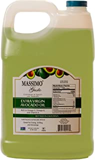 Massimo Gusto Extra Virgin Avocado Oil, 1 Gallon Bulk