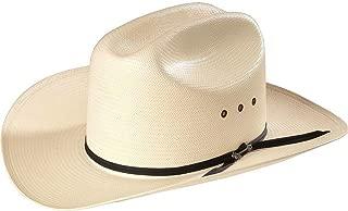 Stetson Straw Rancher Cowboy Hat 3 1/2 Inch Brim