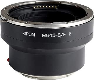 Kipon Electronic Aperture Control Adapter for Mamiya Brand Mamiya 645 Mount Lens to Sony E Camera