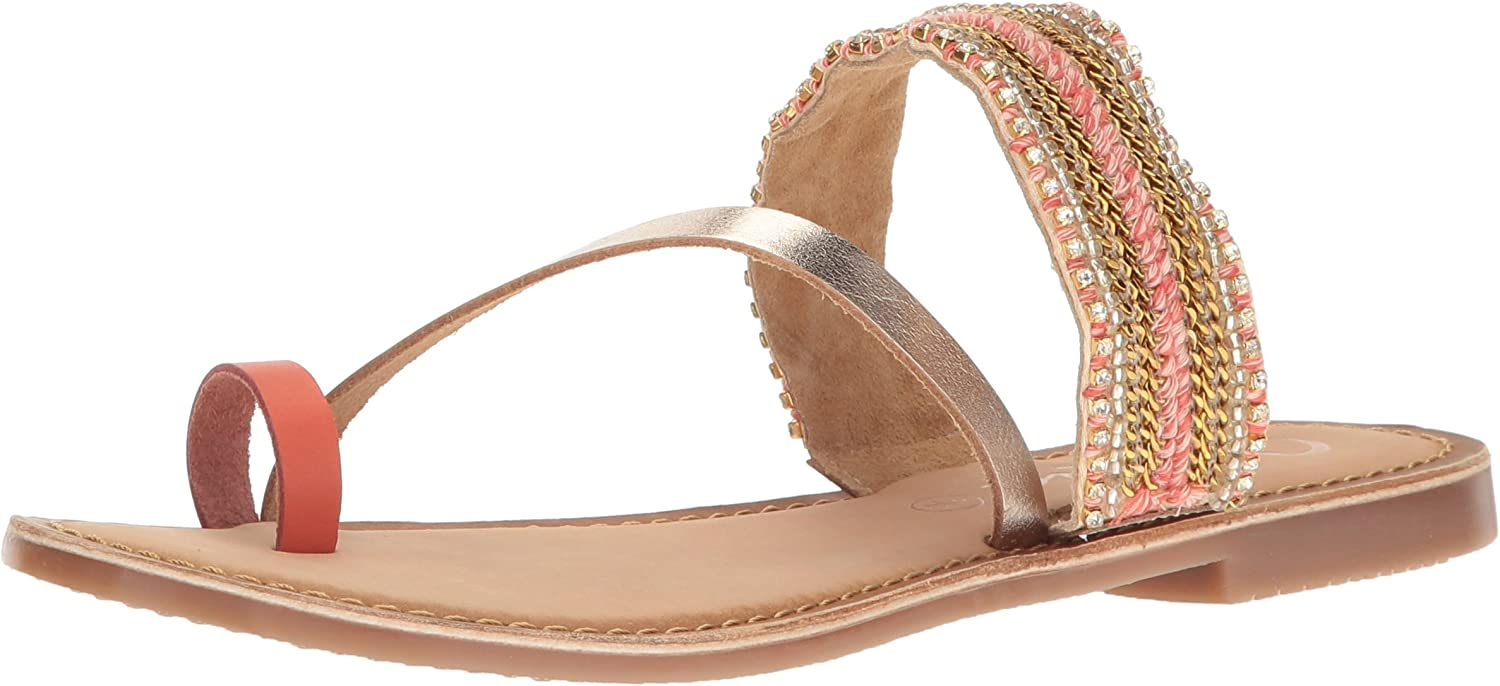 Callisto Womens Karii Toe Ring Sandal