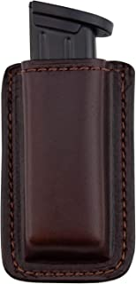 Relentless Tactical Leather Magazine Holder   Made in USA   Sizes to fit virtually Any 9mm .40 .45 or .380 Pistol Mag   Single or Double Stack   IWB or OWB