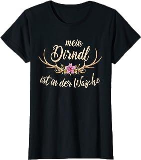 Dirndl & Oktoberfest Damen Dirndl Ersatz T-Shirt Mein Dirndl Ist In Der Wäsche T-Shirt