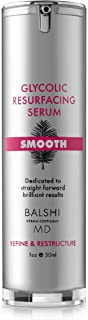 Smooth Retinol & Glycolic Acid Resurfacing Serum For Face and Neck. With Lactic Acid, Pyruvic Acid. Powerful Skin Serum to Refine Fine Lines and Wrinkles and Improve Stretch Marks 1 oz/ 30 ml