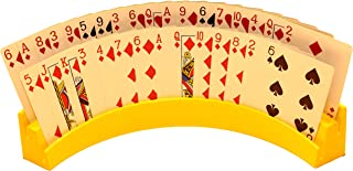 """Twin Tier Premier Playing Card Holder (Set of 2) - Holds Up to 32 Playing Cards Easily - 12 1/2"""" x 4 1/2"""" x 2 1/4"""" - Stack..."""