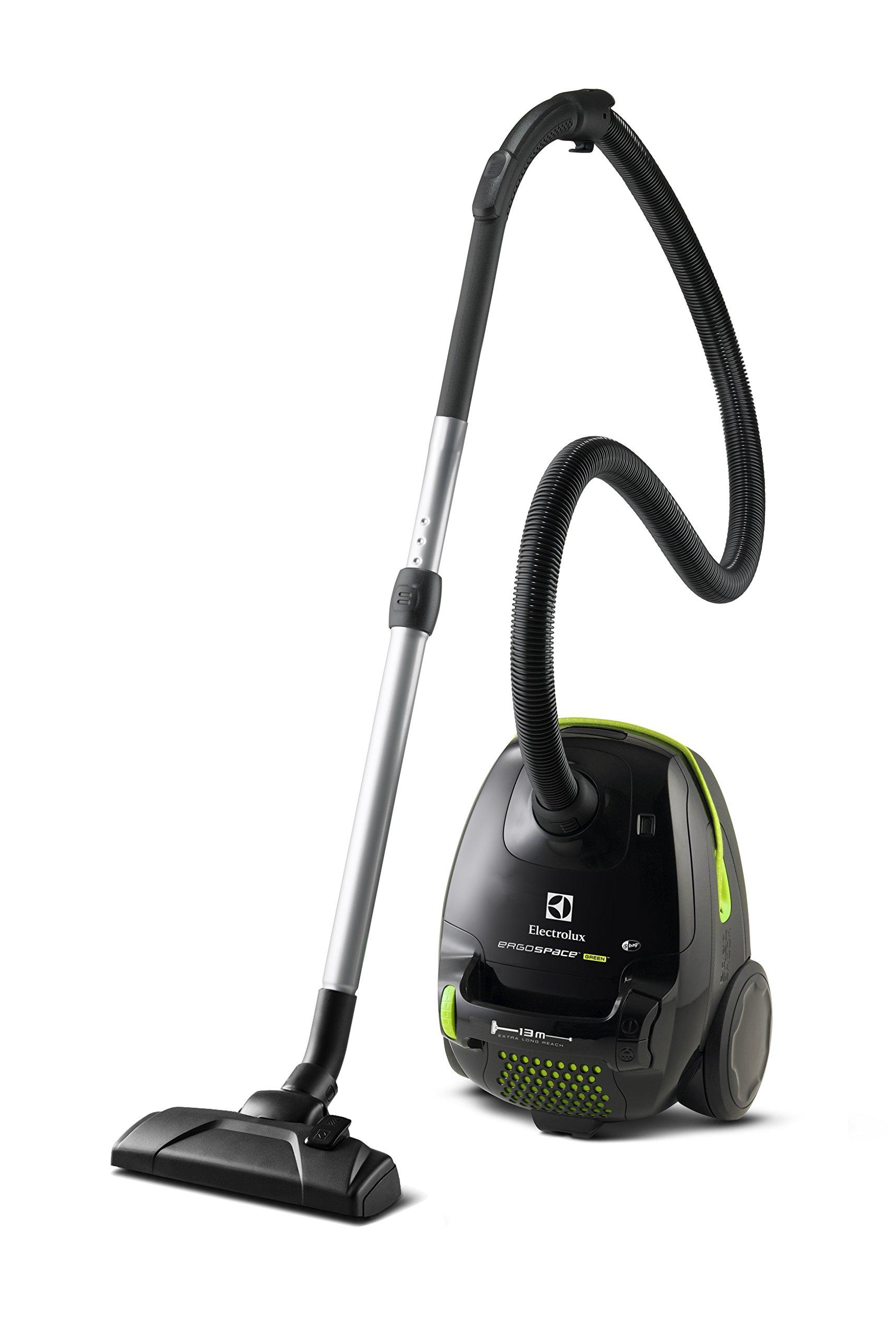 Electrolux ErgoSpace Green – Aspirador con bolsa compacto AAA y ...