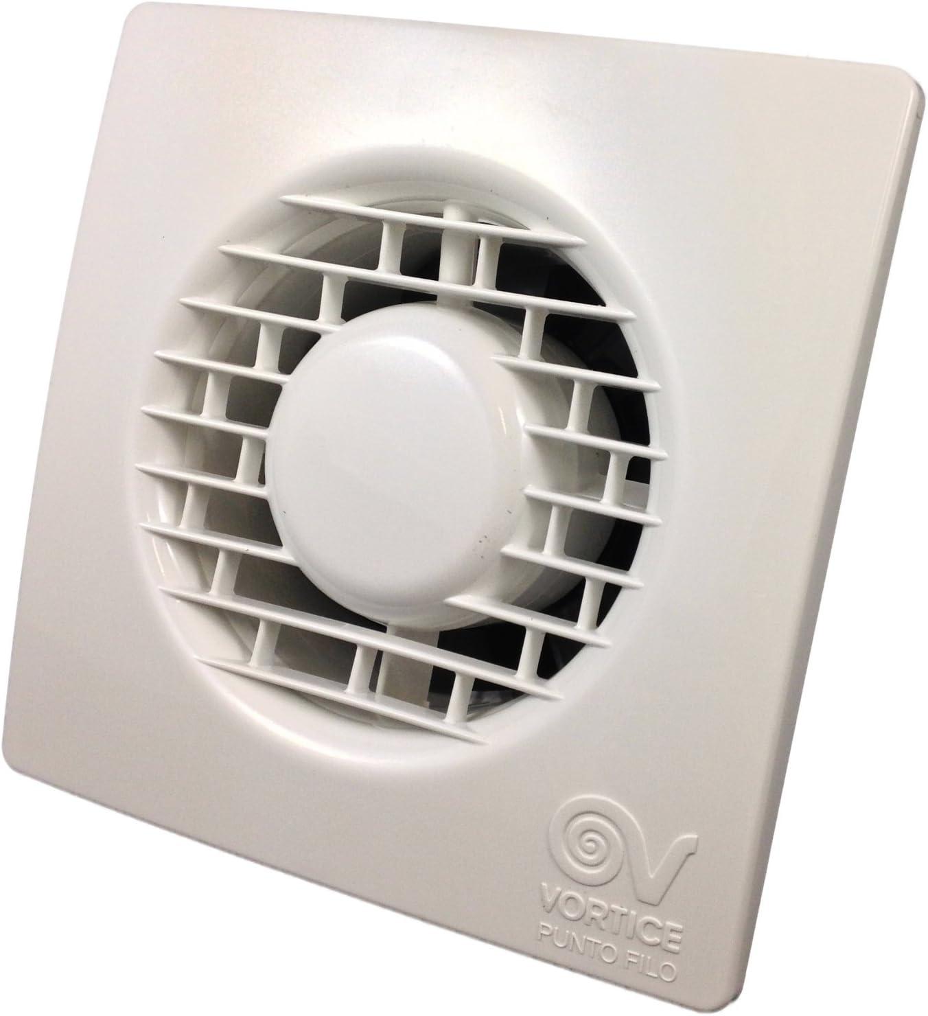 Vortice 20 Toilet / Bathroom Extractor Fan with Timer Punto Filo  MF20/20