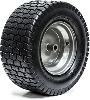 "EPR 16x6.50-8 Turf Tire Riding Mower Tractor Rim Wheel Assembly 3/4 ""ID x 3"" Keyed Offset Hub 2 Ply"