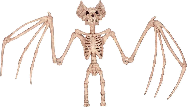 Crazy Bonez Nocturnal Skeleton Bat, 36