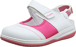 Oxypas Medilogic Melissa Slip-resistant, Antistatic Nursing Shoes in White Size EU 39 / UK 6