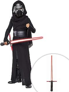 Star Wars Episode VII Deluxe Kylo Ren Costume for Boys and Star Wars The Force Awakens Kylo Ren 3 Blade Lightsaber