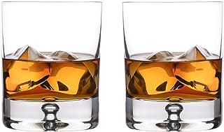 Lunar Oceans Whiskygläser-Set, spülmaschinentauglicher Tumbler, 4er Set Whisky Gläser, 250 ml, Geschenkbox