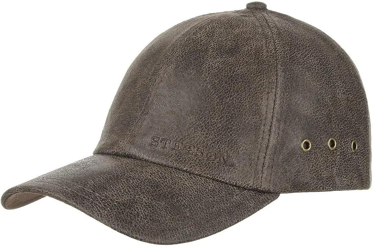 Stetson Liberty Leather Cap Men -