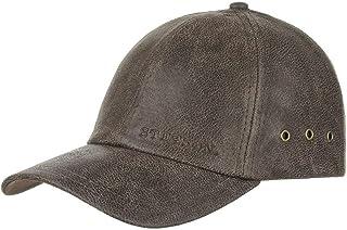 GRAFTON Baseball Schirmmütze Ledercap Lederkappe Regenfest Basecap Schiebermütze