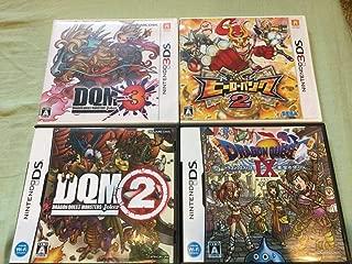 【3DS】ドラクエモンスターズ ジョーカー3+ヒーローバンク2【DS】ドラクエモンスターズジョーカー2+ドラゴンクエスト9 4本セット