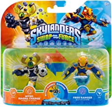 Skylanders Swap Force Double Pack - Exclusive Nitro Magna Charge + Free Ranger (Xbox 360/PS3/Wii U/Wii/3DS)