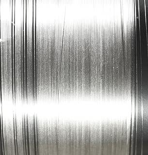 uGems 16 Gauge .999 Fine Silver Round Wire 0.051 1 Feet 6 Inches