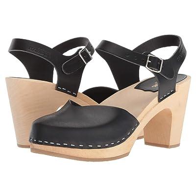 Swedish Hasbeens Covered Super High (Black) High Heels