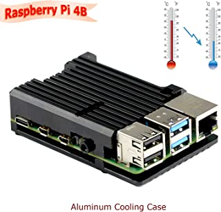 Metal Case for Raspberry Pi 4 Model B Case and Heatsink Thermal Adhesive