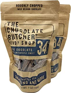 The Chocolate Butcher / Milk Chocolate 34% / Chopped for Snacking or Melting