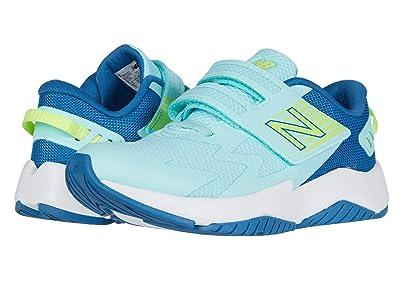 New Balance Kids Rave Run v1 (Little Kid) (Bali Blue/Mako Blue) Girls Shoes