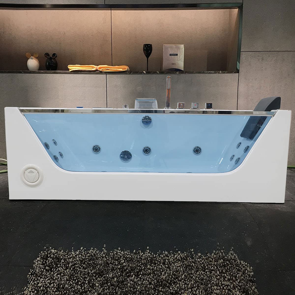 Fashion DECORAPORT 68 Inch 1 Person Infusion Bubble Air excellence Whirlpool Hydro-