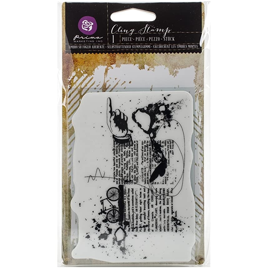 Prima Marketing 580087 Cling Stamp 3.5