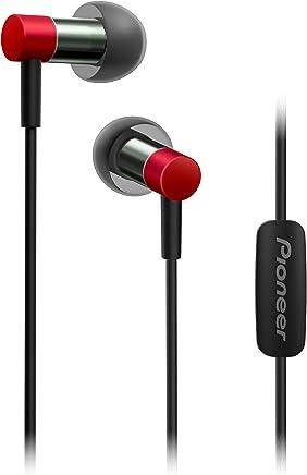 Pioneer Hi-Res Audio in-Ear Headphones, Red SE-CH3T(R)