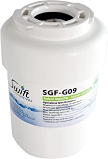 GE replacement water filter MWF, GWF, GWFA Hotpoint HWF, HWFA Amana 12527301 Sears 469991 100% recyclable, and made in U.S.A. and Canada SGF-G9 (Pack of 3)