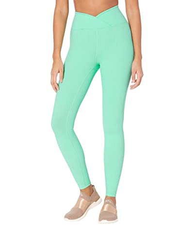 YEAR OF OURS Veronica Rib Leggings (Mint) Women