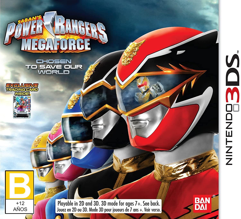Power Rangers quality assurance MegaForce - Nintendo Atlanta Mall 3DS