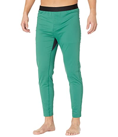 Burton Heavyweight X Base Layer Pants (Antique Green/Dress Blue) Men