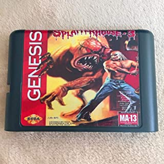 Value-Smart-Toys - SplatterHouse Part 3 16 bit MD Game Card For Sega Mega Drive For Genesis