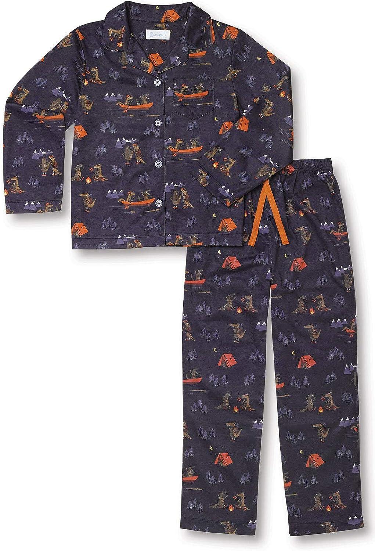PajamaGram Pajamas Long Beach Mall San Francisco Mall for Boys - Button Down