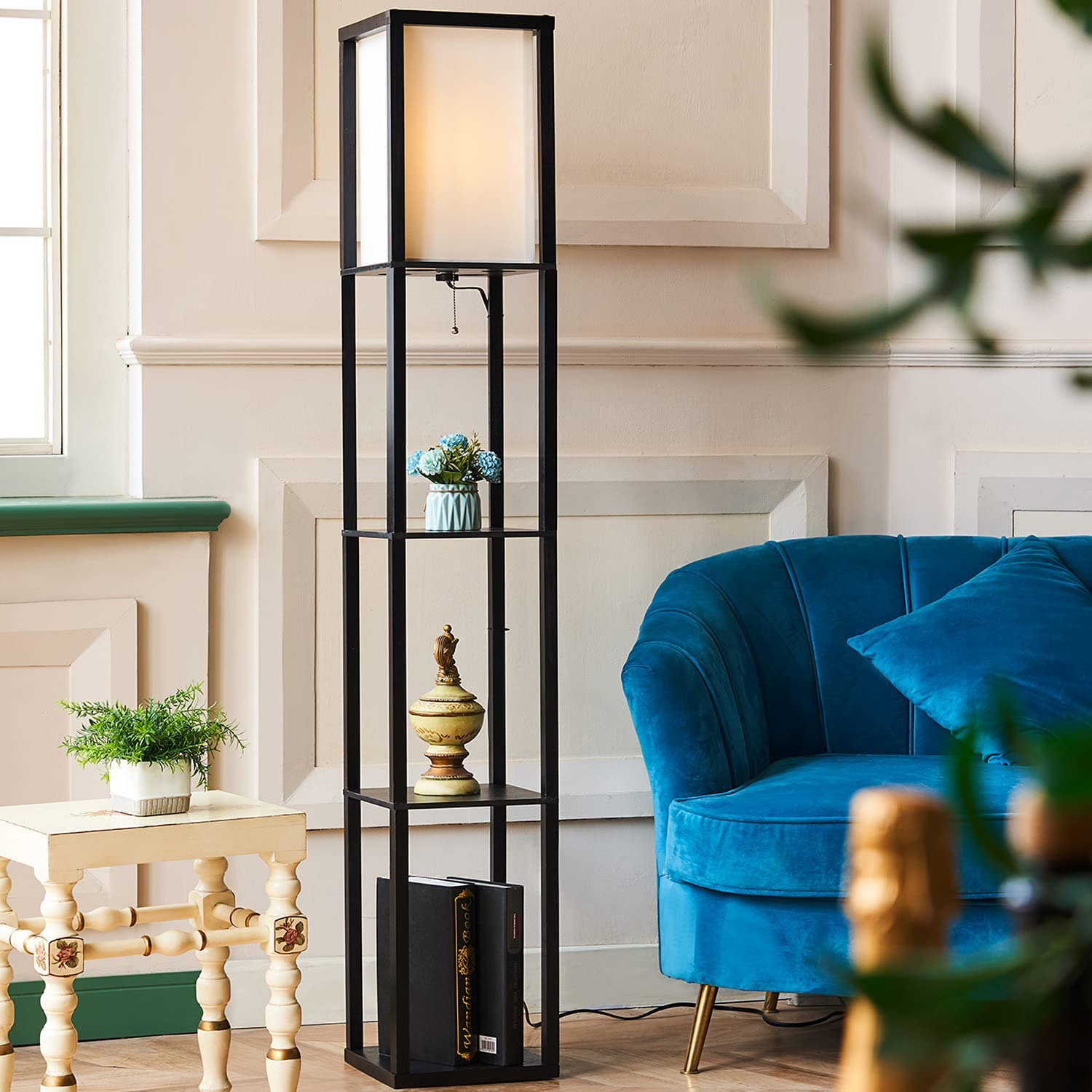 CO-Z Popular products Floor Lamp Etagere Standing 3 with supreme Shelves