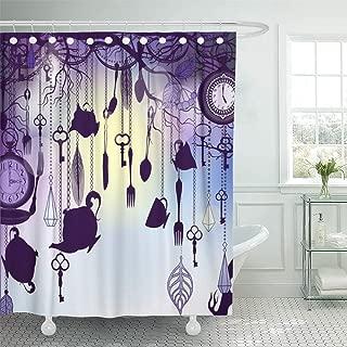 Emvency Shower Curtain Waterproof 66