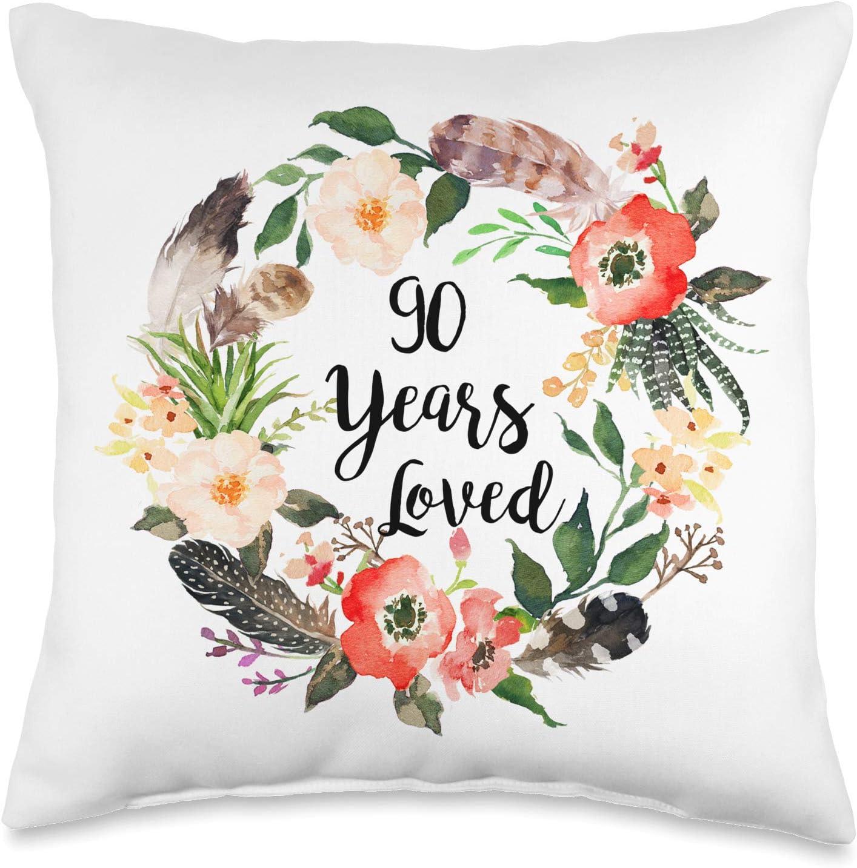 Ranking TOP18 Teelaka Store 90 Years Loved 90th depot Women For Gra Birthday Gifts