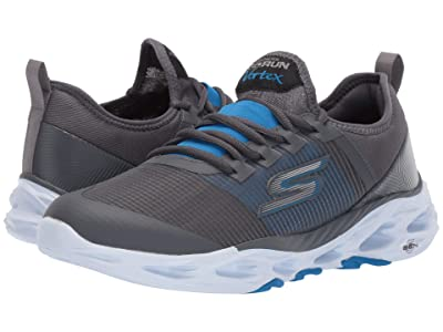 SKECHERS Go Run Vortex (Charcoal/Blue) Men