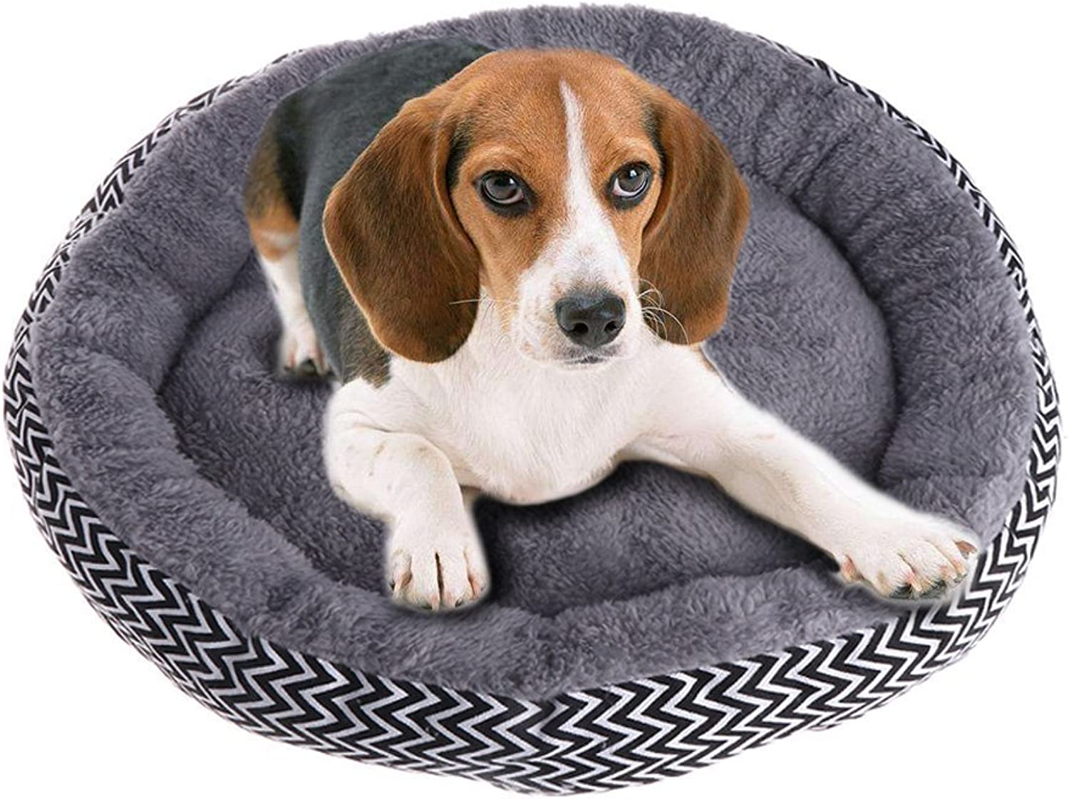 Fashion and Unique Dogs Soft Bed Mat Puppy Cat Round House Couch, Pet Indoor Sleep Pad Warm Sofa Cushion S