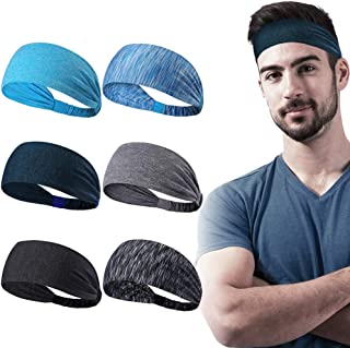 Dreamlover Workout Headbands for Women Non Slip, 6 Pack