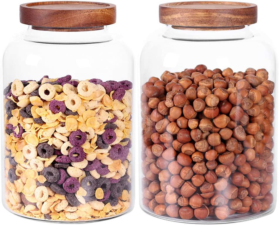 Ranking TOP10 Thicken sale Glass Storage Jar Food with Container Canisters