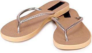 WMK Women's Slippers Indoor House or Outdoor Latest Fashion Black Flipflop Slipper for Women