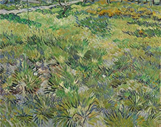 'Vincent van Gogh Long Grass with Butterflies ' oil painting, 12 x 15 inch / 30 x 39 cm ,printed on Perfect effect canvas ,this Amazing Art Decorative Prints on Canvas is perfectly suitalbe for Laundry Room decoration and Home artwork and Gifts