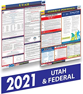 Utah 2021 Labor Law Posters - State and Federal Labor Law Posters for Workplace Compliance