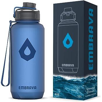 environ 907.17 g Flip Top étanche L Embrava Best Sports bouteille d/'eau Large-fast flow 32 oz