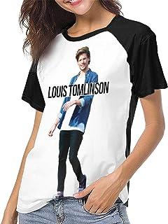 Louis Tomlinson T Shirt Women's Baseball Shirt Fashion Round Neck Raglan Clothes