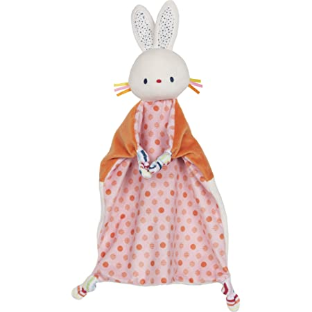 """GUND Baby Tinkle Crinkle Bunny Lovey Plush Stuffed Animal and Security Blanket, 13"""""""